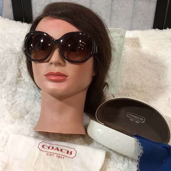 071ab172c274d Coach Accessories - Coach Arabella sunglasses case dustbag